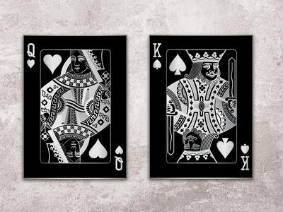 Cards Wall Art photo editing photo manipulation wall art photoshop adobe illustrator