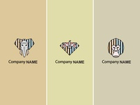 Logo business set in same style.