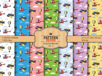 Kids Sky Pattern set