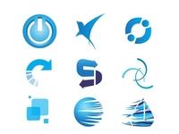 Blue Logos