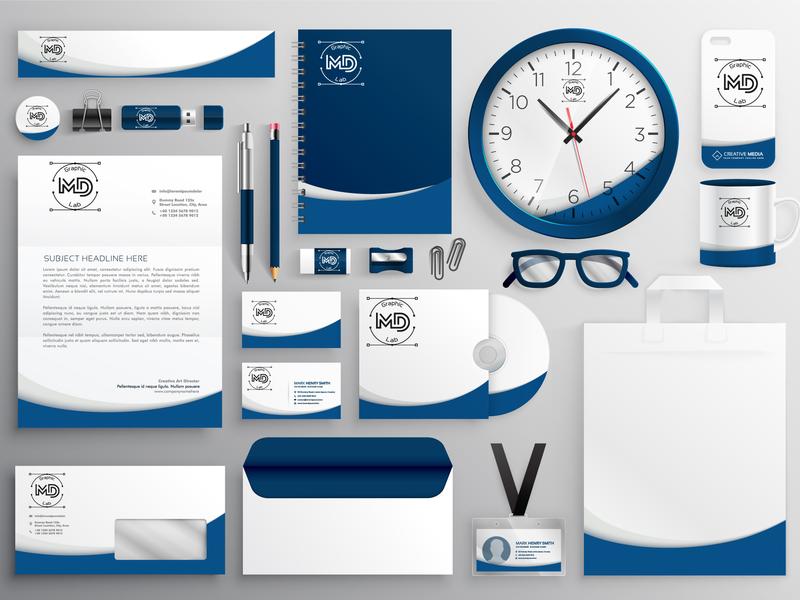 Brand Identity Concept icon vector template typography logo concept branding brand identity photoshop adobe illustrator