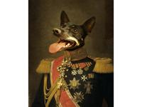 Custom Pet Oil Portrait