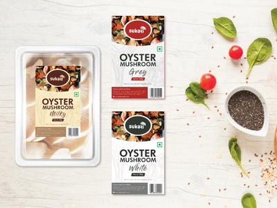 Food container Label design