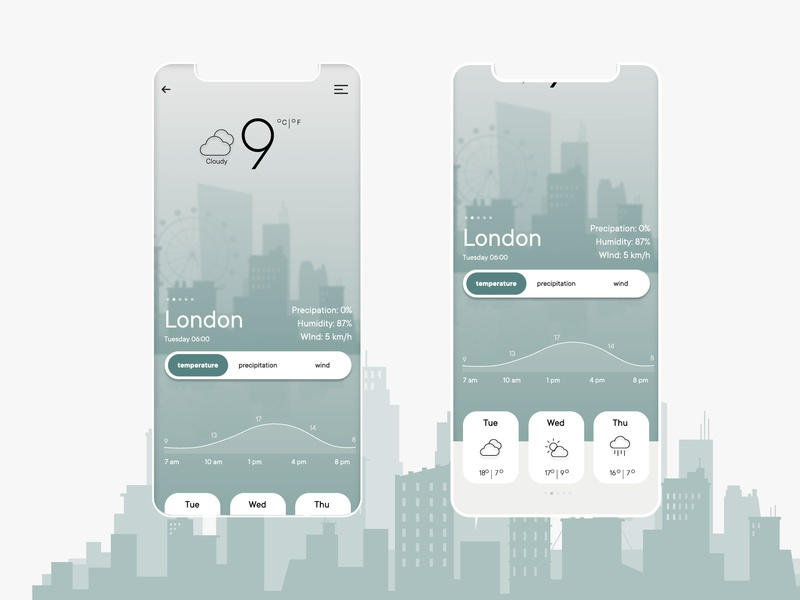 Weather Mobile app concept figma london eye minimal graphics icons weather forecast forecast temperature london city weather widget weather alert mobile app webdesign ui dailyinspiration dailyui037 dailyui