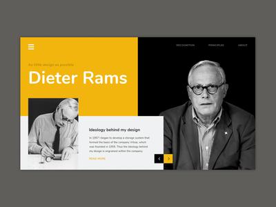 Dieter Rams - Ideology in design