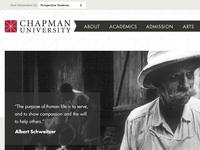 Chapman.edu Redesign