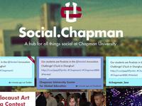 social.chapman re-design