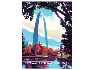 Steve Scott x Gateway Arch National Park