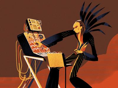 Steve Scott 'Brian Eno'