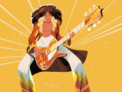 Steve Scott 'Marc Bolan'