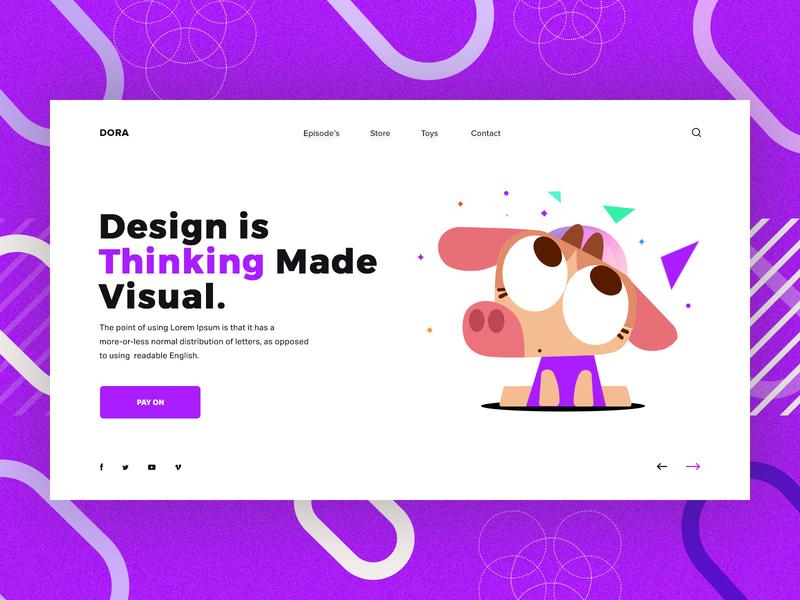 Banner Design typography design branding illustration ui
