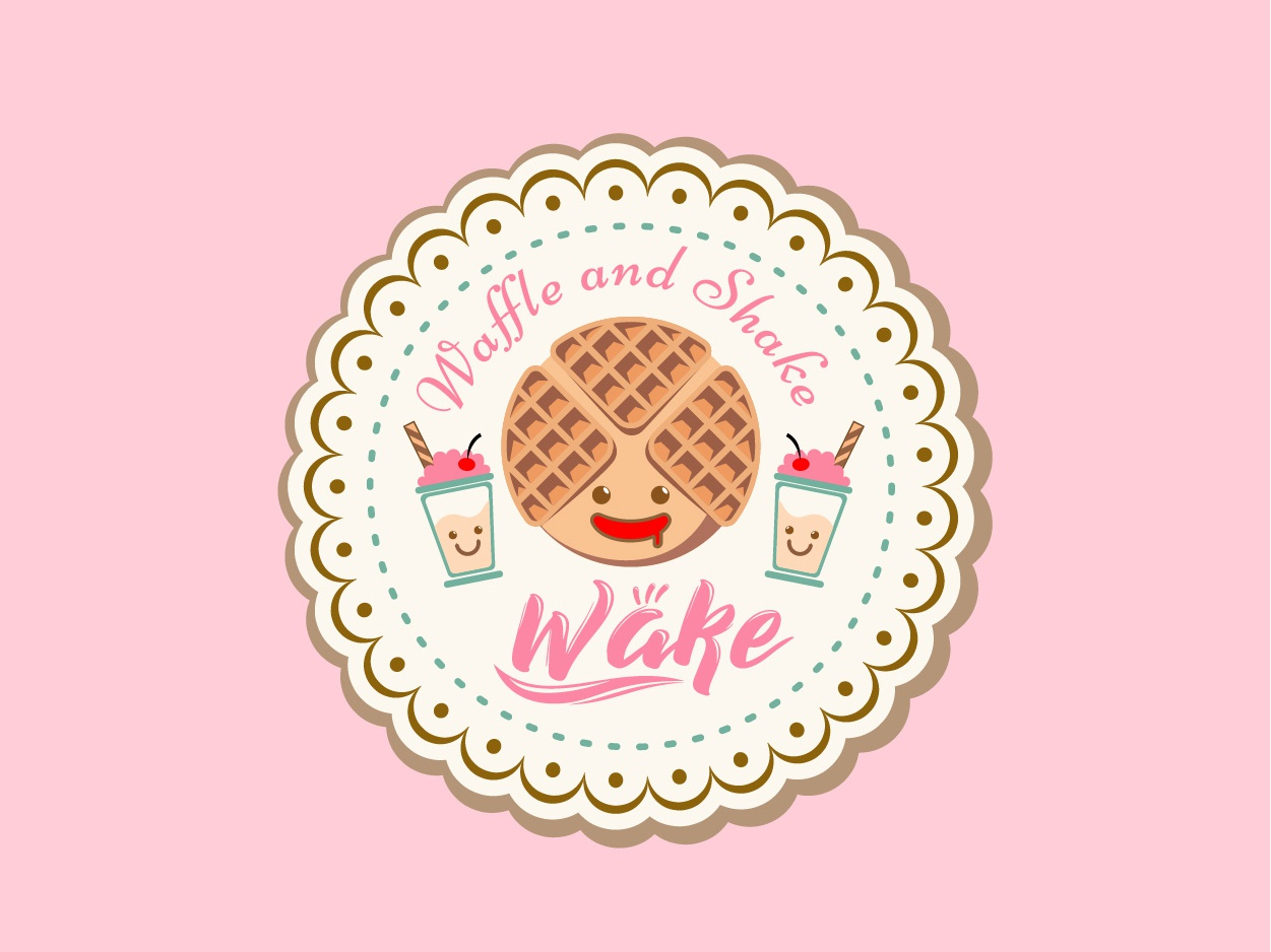 Waffle Logo.. yummy.. :D art logodesigner graphicdesign illustration illustrator logo
