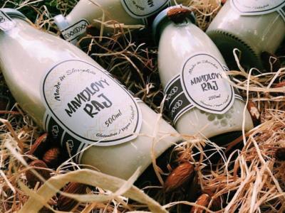 Bio drink packaging - Almond paradise