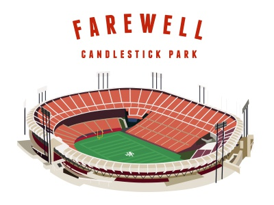 End of an Era 49ers candlestick park nfl football sports san francisco stadium