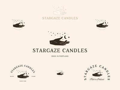 Stargaze Candles Logo