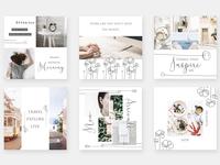Minimalist Garden - Instagram Posts