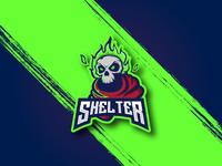 Shelter Esport Logo Concept