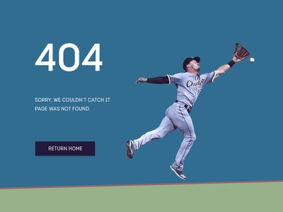 404 error page illustraion first shot ux website flat freelance designer 100 daily ui 100 day project green blue player button baseball daily 100 challenge daily 100 web design ui 404 error page 404 page