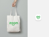 Zoom Logo application and icon