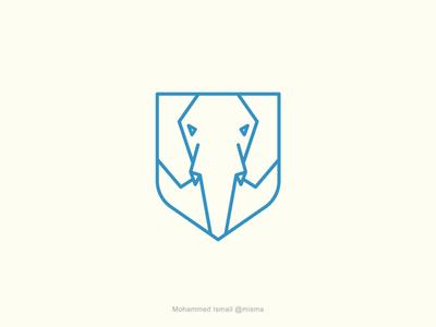 elephant shield logo for sale