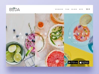 Byda Landing Page
