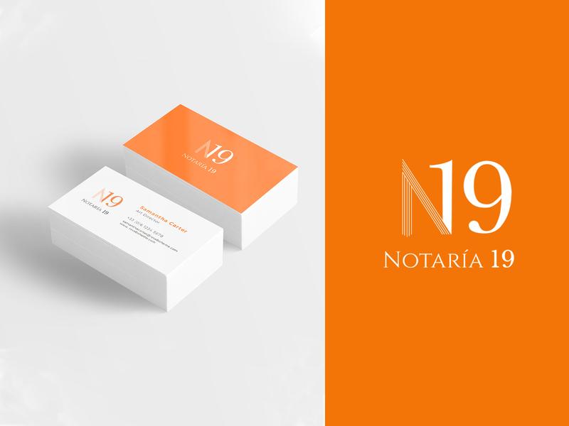Branding for a notary. brand design brand branding design