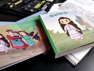 AURORA newyork 1915 armenia colors childrens book artwork design illustration comic book characterdesign art book