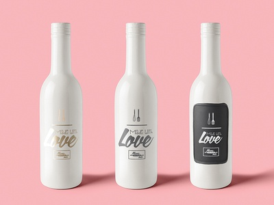 Bottle Packaging Mock Up