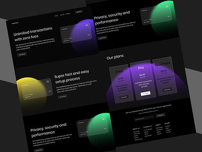 Nexocon : Fintech Website web design finance business web website finance fintech clean user experience user interface product design design ux ui minimal