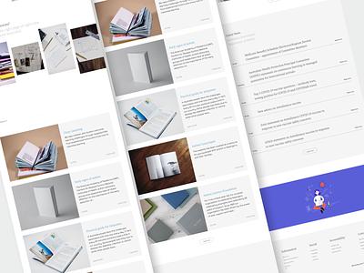 Carehood : Resources Page webapp website design responsive web design website news resources ndis healthcare health clean product design design ux ui minimal
