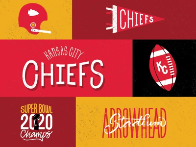 CHIEFS pennant national football league font typography hand made type good type hand made kc champs 2020 superbowl arrowhead kansas city kansas city chiefs kansascity hand lettering lettering football nfl chiefs