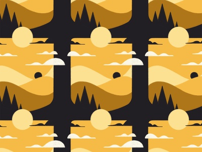 Pencil Scapes 12 hills valley procreateapp unique clouds procreate brushes procreate brush procreate art procreate app procreate pencil design sun textured landscape environment drawing illustration texture series procreate
