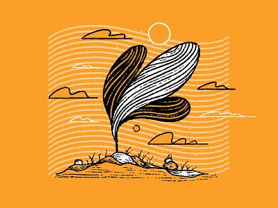 Wisp inktober2020 fall drawing prints style blowing wind tree wind wispy wisp print series series subtle texture texture procreate texture procreate ink procreate illustration inking ink inktober 2020 inktober