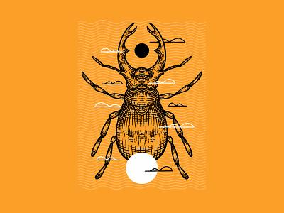 Armor print series series bug drawing bugs stag stag beetle line work digital inktober procreate inktober digital brush engraving engrave shield bug bettle armory inktober 2020 inktober2020 inktober armor
