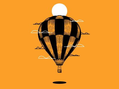 Float drawing illustration texture series print series procreate drawing procreate flying fly inktober2020 inktober 2020 inktober hot air balloons hot air balloon air balloon floating float