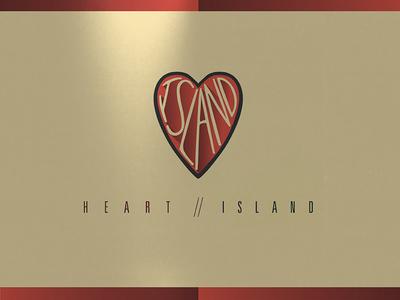 Heart Island Dribbble