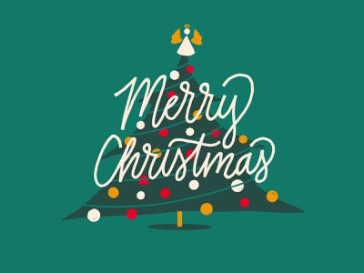 Christmas 1 christmas series illustration drawing christmas tree illustration procreate typography procreate lettering procreate art angel christmas card christmas tree digital type hand lettering lettering christmas greeting holiday type christmas type typography procreate type procreate christmas