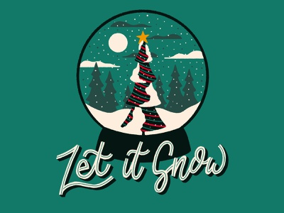 Let It Snow! series procreate lettering christmas typography christmas sketch christmas drawing christmas tree snow globe typography handmadetype procreate lettering christmas lettering holiday lettering procreate art procreate drawing procreate snow snow drawing snowing let it snow