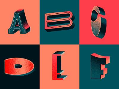 First 6 color scheme 3d artwork 3d hand made font hand made type procreate texture procreate pencil procreate procreate lettering hand lettering lettering 36 days of type 36daysoftype08 36daysoftype