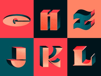 G-L typism typography art type handmadetype handmade digital lettering procreate lettering hand lettering letter l letters letter k letter j letter i letter h letter g letter 36dayoftype08 36daysoftype typography lettering