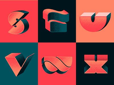 S-X x w v u t s handmadetype handmade handlettering typism typography digital lettering 36dayoftype contest lettering 36daysoftype 36daysoftype08 36days