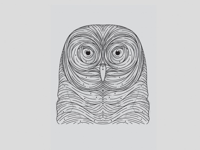 Owl Linework stylized owl owls linework tattoo idea owl tattoo owl art owl