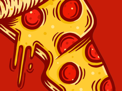 YUM yum pizzas cheese peeproni pep cheesy greasy food pizza