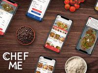 CHEF ME Recipe App