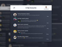 Daily UI Challenge #044 - Favorites
