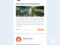 Daily UI Challenge #047 - Activity Feed