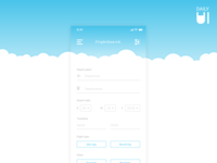 Daily UI Challenge #068 - Flight Search