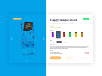 Daily UI Challenge #096 - In Stock