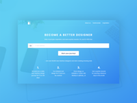 Daily UI Challenge #100 - Redesign Daily UI Landing Page