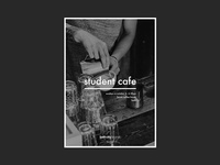 Student Cafe Poster